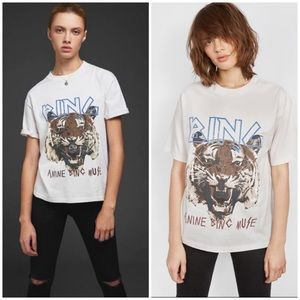 FIRM Anine Big graphic tiger tee